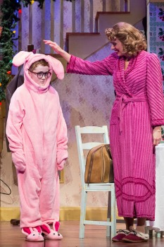 from the holiday movie a christmas story is just one of the many well known lines audiences will hear in the walnut street theatres