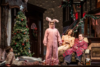 every year the movie a christmas story can be seen over and over on numerous channels during the holiday season this year paper mill playhouse brings this - The Christmas Story Movie